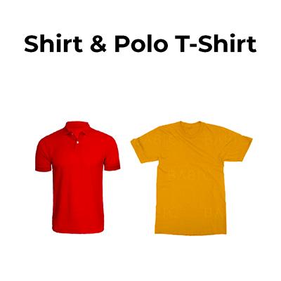เสื้อยืด & เสื้อโปโล (SHIRT)